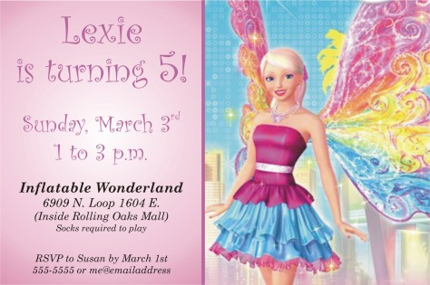 lexie invitation