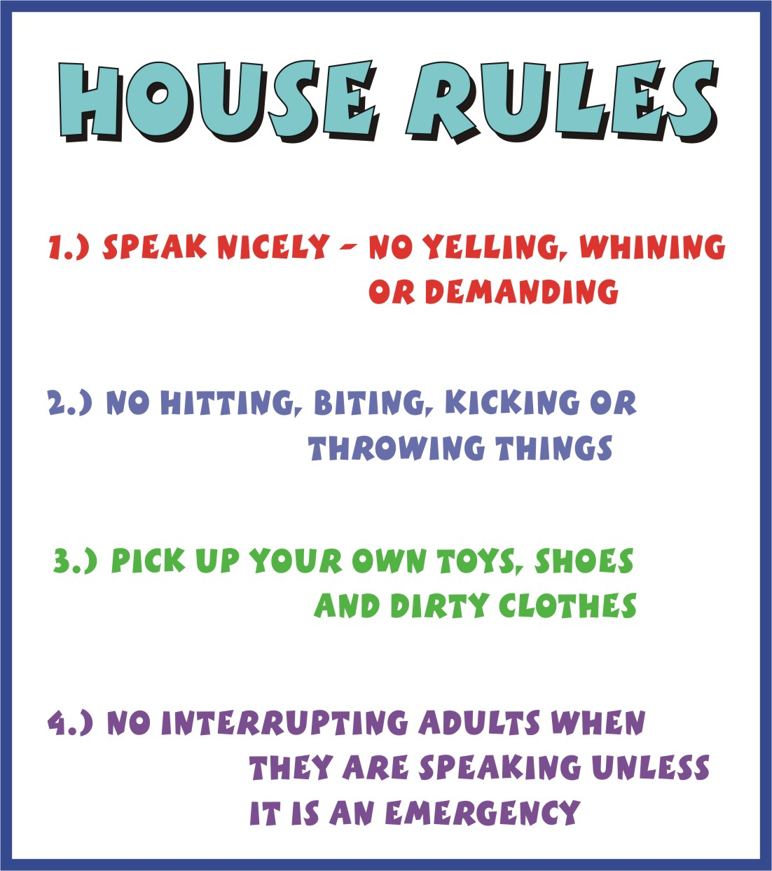In House Rules Simple Minimalist Home Ideas