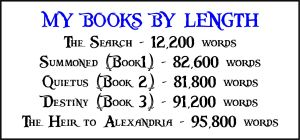 Book lengths