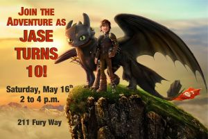 HTTYD invitation