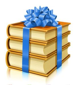 gifts-of-books-with-ribbons-and-bows1
