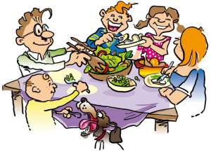 Family Dinner Clipart Screen Shot 2012 10 19